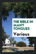 The Bible in Many Tongues