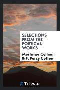 Selections from the Poetical Works