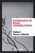 Economics of Road Construction