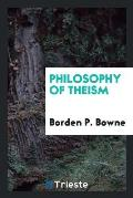 Philosophy of Theism