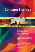 Software Licenses A Complete Guide - 2019 Edition