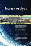 Journey Analysis A Complete Guide - 2019 Edition