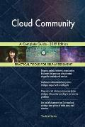 Cloud Community A Complete Guide - 2019 Edition