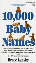 10000 Baby Names