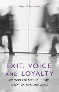 Exit Voice & Loyalty Responses to Decline in Firms Organizations & States