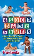 45000 Baby Names