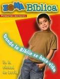 Zona Biblica En La Ciudad de David Younger Elementary Leader's Guide: Bible Zone in the City of David Spanish Younger Elementary Leader's Guide