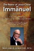The Name of Jesus Christ as Immanuel