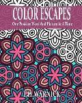Color Escapes: Adult Coloring Book