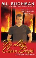 Fire Light Cabin Bright