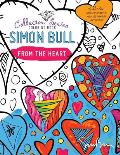 Simon Bull Coloring Book: From The Heart
