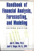 Handbook Of Financial Analysis Forecasting &
