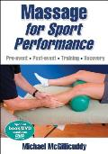 Massage for Sport Performance [With DVD]