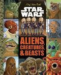 Big Golden Book of Aliens Creatures & Beasts Star Wars