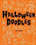 Halloween Doodles Spooky Designs to Complete & Create