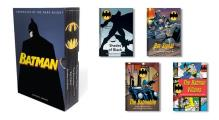 Batman Chronicles of the Dark Knight 4 hardcover illustrated books
