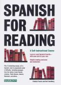 Spanish for Reading A Self Instructional Course