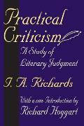 Practical Criticism: A Study of Literary Judgment