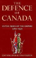 Defence Of Canada In The Arms Of The