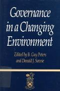 Governance in a Changing Environment