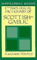 Etymological Dictionary Of Scottish Gaelic