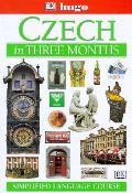 Czech In Three Months Book & Tape