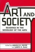 Art and Society: Readings in the Sociology of the Arts
