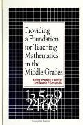 Providing A Foundation For Teaching Math