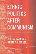 Ethnic Politics After Communism
