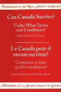 Can Canada Survive?: Under What Terms and Conditions?