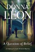A Question of Belief: A Commissario Guido Brunetti Mystery