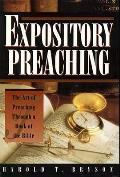 Expository Preaching: The Art of Preaching from a Bible Book