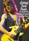 Original Randy Rhoads An Annotaed Guide To The Guitar Techniques Of Randy Rhoads