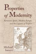 Properties of Modernity
