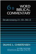 Word Biblical Commentary Deuteronomy 21