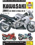 Kawasaki ZX600 (ZZ-R600 & Ninja ZX-6) '90 to '06