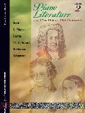 Piano Literature of the 17th 18th & 19th Centuries
