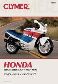 Honda 600 Hurricane 1987 1990 Service Repair Maintenance