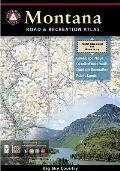 Benchmark||||Montana Benchmark Road & Recreation Atlas
