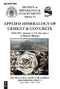 Applied Mineralogy of Cement & Concrete