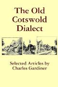 The Old Cotswold Dialect