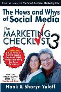The Hows and Whys of Social Media: - The Marketing Checklist 3
