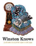 Winston Knows: Winston is an indoor cat. He lives with Nick, Nora and Betsy, the dog. Winston doesn't ever get to go on walks - or do