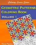 Geometric Patterns Coloring Book Volume 1