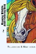 Wyoming Wildlife Small Adult Coloring Book: Relaxation & Meditation