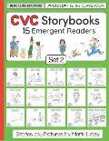 CVC Storybooks: Set 2: Teacher Edition