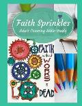 Adult Coloring Bible Study: Faith Sprinkles