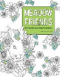 Meadow Friends Nature Designs Coloring Book