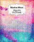 Marine Mom Prayer Journal: 60 days of Guided Prompts and Scriptures Pink Purple Pastel