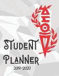 Student Planner: DST 8.5 x 11 110 Page 2019 2020 Academic Organizer & Tracker Notebook for College Collegiate Students
